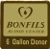 "Picture of a Bonfils ""6 gallon donor"" pin."